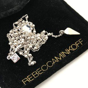 Rebecca Minkoff Necklaces silver plated Y neck Pyr